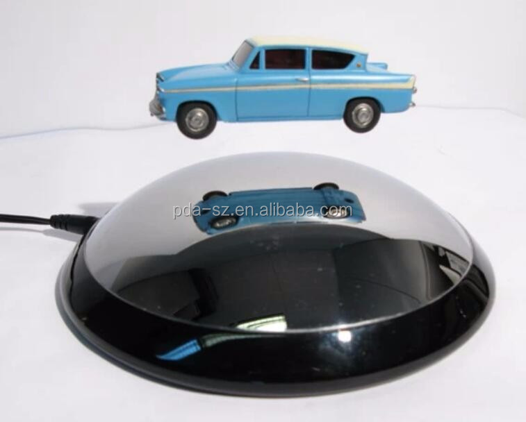 magneticlevitaton floating bottom can car model display racks