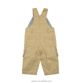 100% Cotton Canvas Baby Trousers