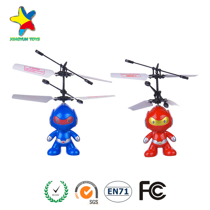 Hot selling kids funny hand induction flying ufo toy for sale with light XY-103