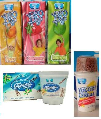 Long Life Yogurts