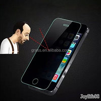 mobile phone temper glass screen protector Anti-Peeping Privacy Tempered Glass for IPhone5