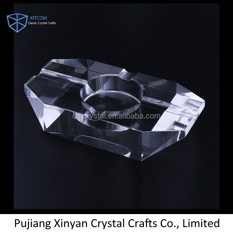 Wholesale funny design fancy beautiful crystal ashtray