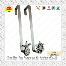 Wholesale single coat hook rabbit pineapple flower over door hook