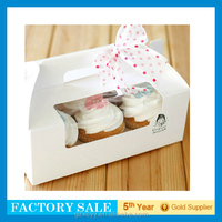 fancy brown cupcake boxes ifor mini cakes
