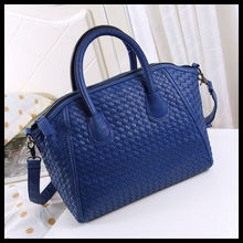2013 new ladies Smiling faces shoulder bag woven retro wild crossbody fashion handbags B4042