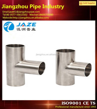 WPB A234 ANSI B16.9 pipe fittings barred tee