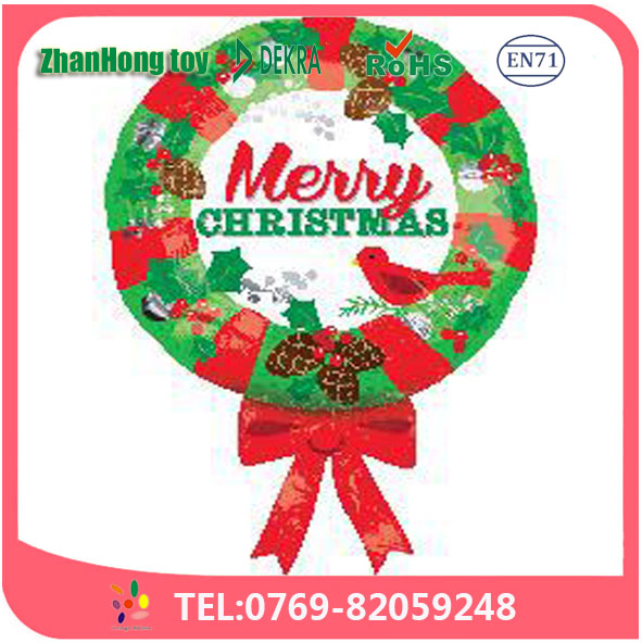 dongguan wholesale high quality 2017 merry christmas words decoration