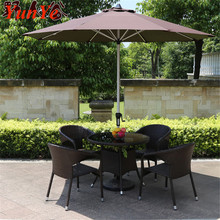 High Quality Indoor Outdoor Garden Patio <strong>Furniture</strong> Dining Coffee Table Chair Set PE Rattan Wicker Foldable Folding <strong>Furniture</strong>