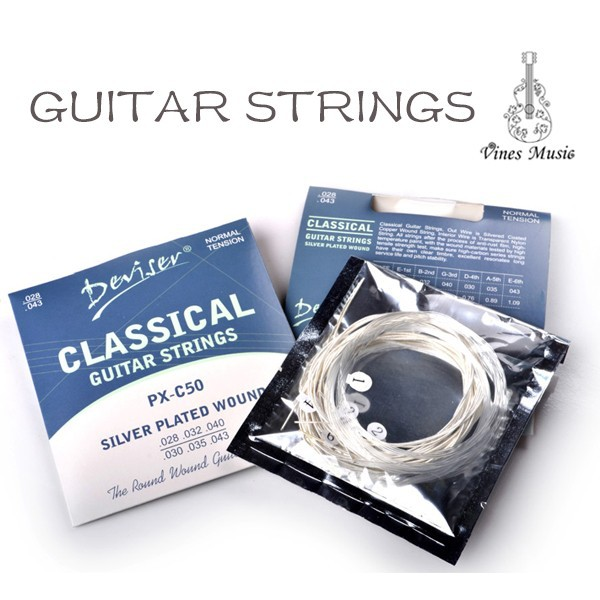Quality Normal Tension Nylon Classical Guitar Strings ...