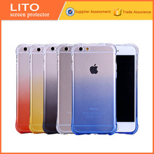 Soft TPU Gradual Changing Color Case Cover For iPhone 6 TPU Case