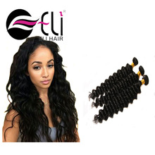 hot selling virgin armenian hair free weave hair packs , double weft virgin raw brazilian deep wave hair