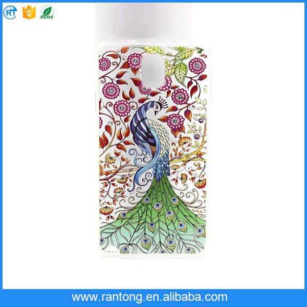 2016 new Anti-scratch TPU phone case with print picture for nokia 1020