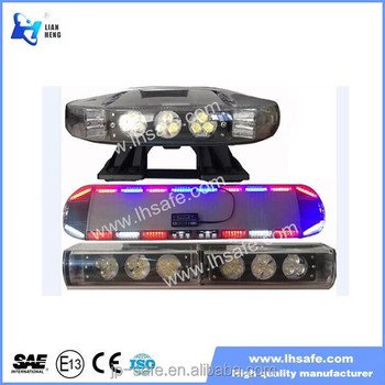 1200mm Amber LED Strobe Light Bar Takedowns Traffic directional light TBD8900A