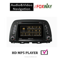 "Foxway 8"" Double din Car multimedia player with dvd GPS Navigation for Mazda CX-5"