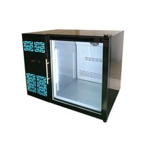 SC182 Beverage Stainless Steel Undercounter Display Cooler