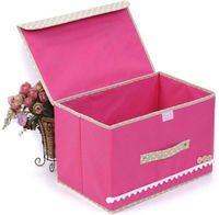 Non-Woven Fabric Soft Foldable Storage Organizer