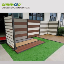 eco-friendly wood plastic composite wpc fencing panel