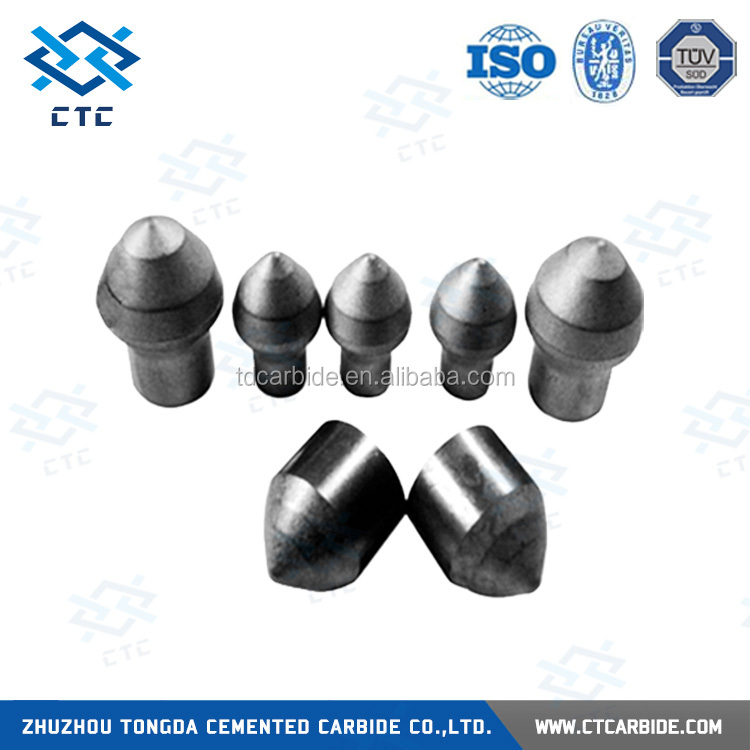 Yg6/yg8 tungsten carbide button bit drill bit for for earth boring, water well drilling, mining