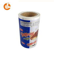 Plastic carry bags polyurethane heat transfer film with ketchup packaging food pouch