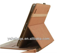 9.7 inch tablet cover pu leather case for iPad case