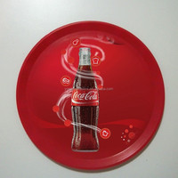 plastic round beer tray, ABS tray