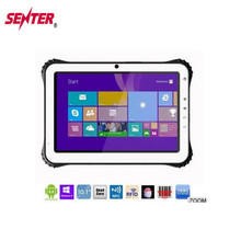 IP65 10.1 inch touch screen wifi GPS 3g NFC RFID Fingerprint reader Barcode scanner reader rugged tablet Windows10/Android 4.4
