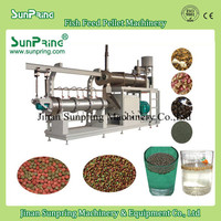 dried floating fish feed pellet machine for carp