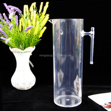 2L Clear Polystyrene Juice Jugs Iced Beverage Plastic Pitchers