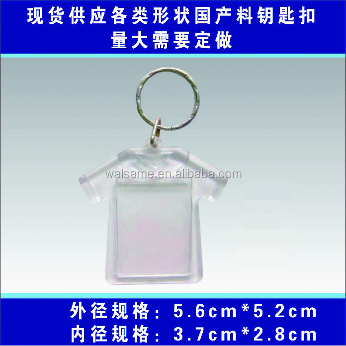 different shape custom heart shaped keyring acrylic keyring