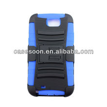 Samsung Galaxy Note 2 N7100 RUGGED HYBRID CASE COVER WITH BELT-CLIP HOLSTER