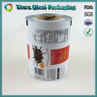 Gravure Printing Super Safety Plastic Coffee Chocolate Food Packaging Film In Roll