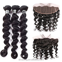 silk base Full Lace Frontal Closures 13x4 13x6 13x8 Malaysian loose Wave Lace Frontal