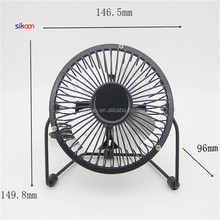 Classic Wholesale Computer Mini Portable Small Electric USB Metal Fan With Free Samples Promotional Gifts