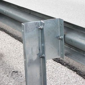 Hot dip galvanized armco barrier highway guardrail