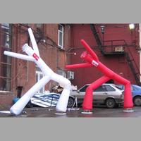 decorative and advertising inflatable skydancer for event