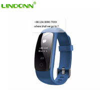 ID107plus smart fitness tracker pedometer bands shenzhen smart bracelet with heart rate
