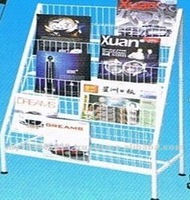 Magazine Wire Mesh Display Shelf