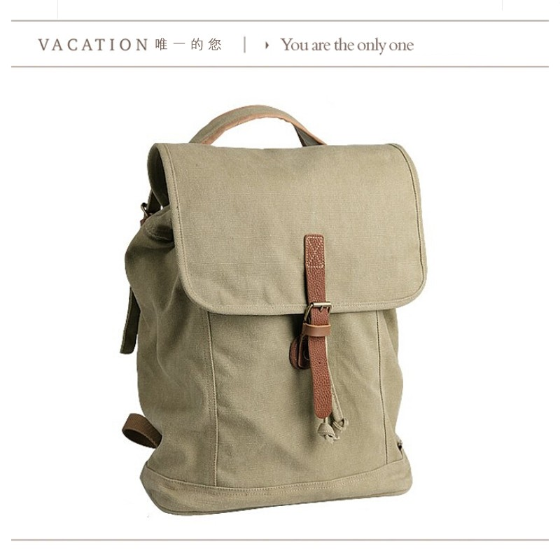 Backpack canvas for school