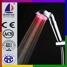 C-138 LED Color Change LED Stainless Steel Shower Head