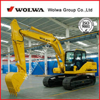 china made excavator hydraulic excavator low price sale DLS160