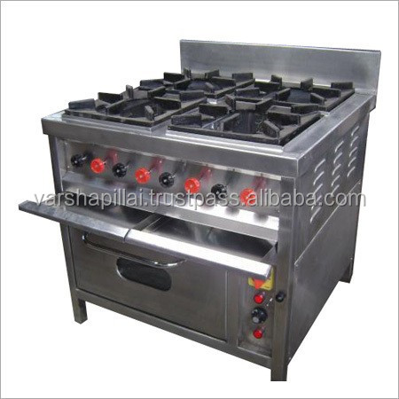 low price 4 burner gas Cooking Range with Oven
