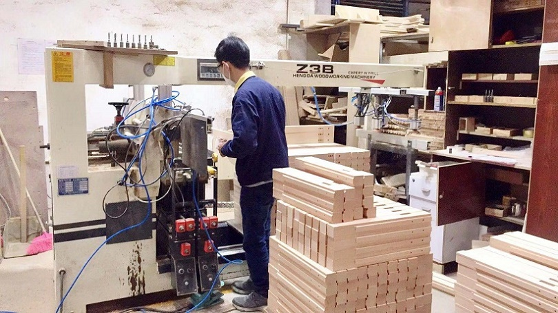 Wood Products Processing (Salon and Beauty Furniture)