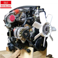 4JB1-TC diesel engine,non-rod engine,68kw 3000rpm,used for D-MAX Pickup truck