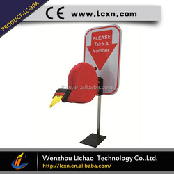 Smart Electronic Queuing System Parking Equipment Ticket Dispenser