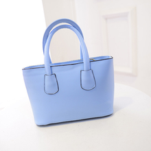 W71777G 2016 china supplier fashion leather simple blank bags handbag ladies hand bags for women