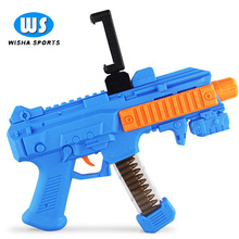 2017 Latest AR Gaming Gun Plastic Augmented Reality Shooting Game Toys Gun For Android and iPhone Bluetooth Controller