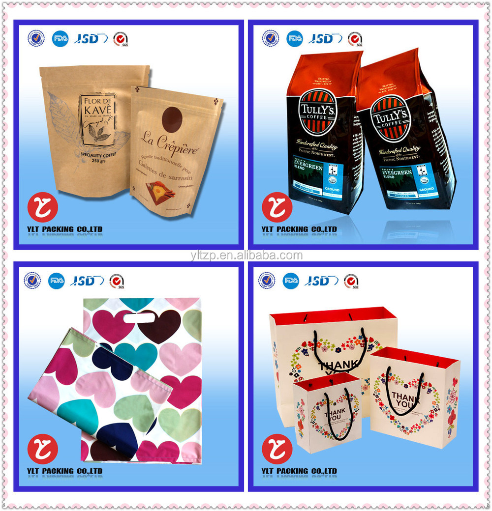 Stand up oval window bag/ Kraft Paper Bags/Doypack Kraft Paper Bag with or without Window for food