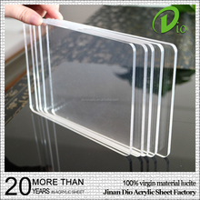 outdoor customized clear plastic sheet acrylic glass best price