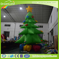 High quality commercial advertising Christmas inflatable tree for decoration