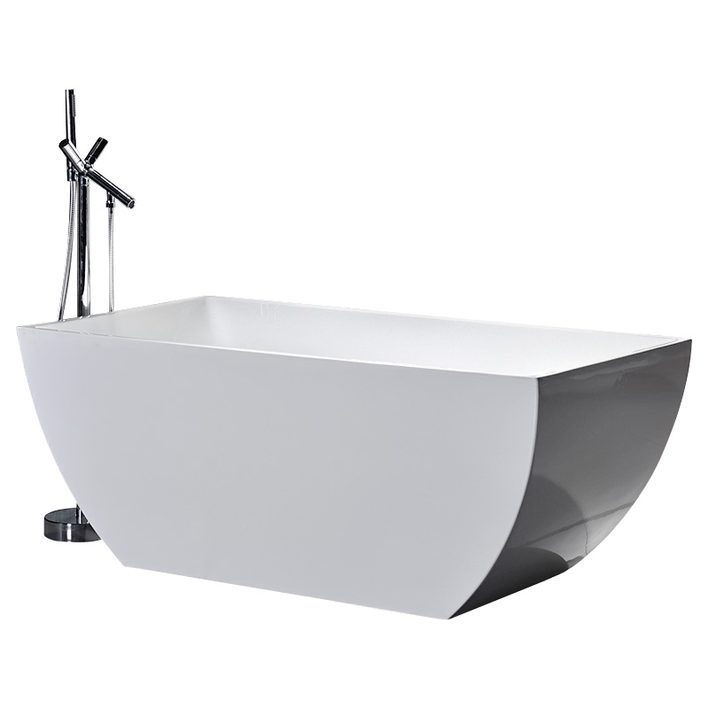 Pure acrylic new design outdoor soaking tub